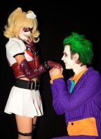 Harley and Joker by Youei