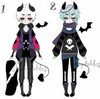 punk demon adoptable batch CLOSED by AS-Adoptables