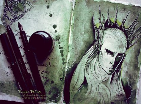 Thranduil by Kinko-White
