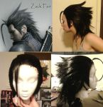Wig Commission: Zack Fair by Antiquity-Dreams