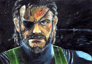 Snake MGS V Ground Zeroes by finaladventure