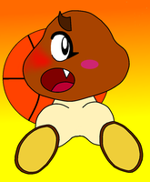 Goomba Basketball by ZeoLightning