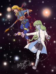 Space Pirates Redux by IceCoffin