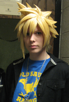 Cloud Strife Wig by Malindachan