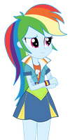 Rainbow Dash - Friendship Games by MixiePie