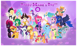 Happy Mare's Day 2018 by AndoAnimalia