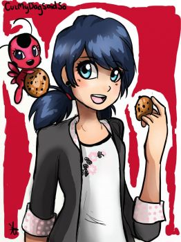 Marinette by YumiKohiChan