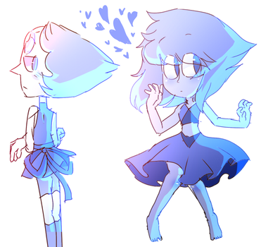 Pearl and Lapiz by mabill2001