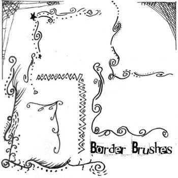 Border Brushes by Red--Roses