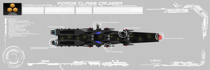 Forge Class Cruiser by EmperorMyric