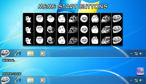 Meme Windows 7 Start Orbs by irismendoza
