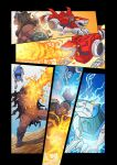 Voltron Force vol 4 : Raise of the Beast King by papillonstudio
