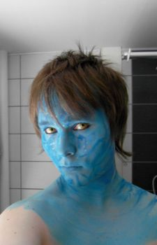 Avatar cosplay in progress by usk