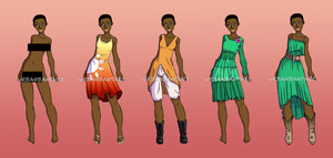 Courtnie clothing set by forgotten-light