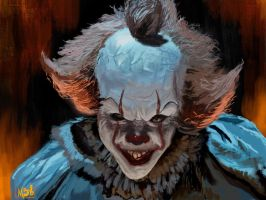 Pennywise Clown  (IT 2017) by mambarod