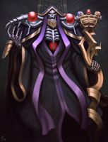 Ainz Ooal Gown by ArtDeepMind