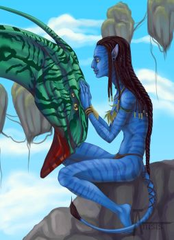 Avatar_Neytiri by Anisis