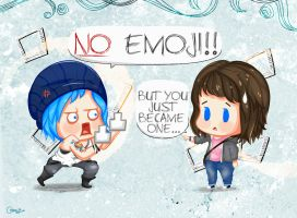 Life Is Strange: NO EMOJI by idyllicisabel