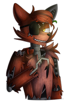 Collab: :Old Foxy: by SoundwavePie