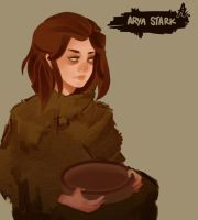 Arya, The Blind Stark by zzzKEO