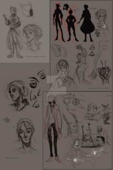Character Design Progress ADVENTURE! by vickie-believe