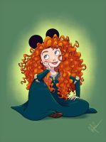 Mickey Ears - Merida by DylanBonner