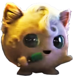Detective Pikachu Movie - Jigglypuff PNG by DavidBksAndrade