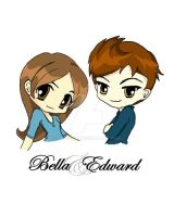 Bella and Edward by Gray-Lily