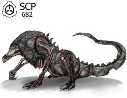 SCP 862 __ Hard-to-Destroy Reptile __ by SwarmCreator