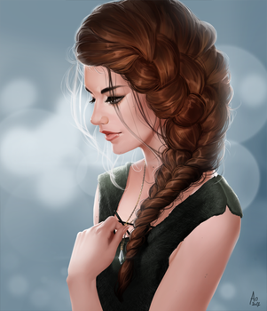 Aylee - portrtait by AonikaArt