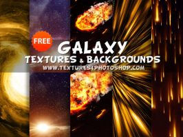 Free Galaxy Textures and Backgrounds by PsdDude