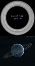 planet ring by saturnstock