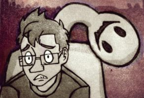 Markiplier 9 ~ The Crooked Man!! by wilhelmblack1945