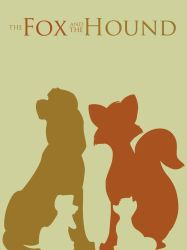 The Fox and the Hound by Citron--Vert