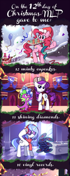 The 12 Days of Christmas by Karzahnii