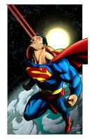 Superman For Wildstorm by RossHughes