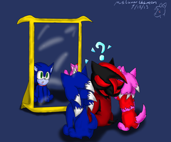 Children of The Night 2- Discovering Mirrors by MsLunarUmbreon