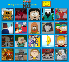 My Top 20 Favorite South Park Episodes by 4xEyes1987