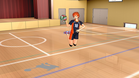 [MMD] Gym Stage [Download] by holyprussia