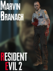 Marvin Branagh - RE2:Remake - XPS by xZombieAlix