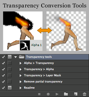 Transparency Conversion Tools v2 by chain