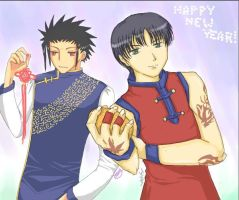 Happy New Year - CLAMP Semes by Joichiroll