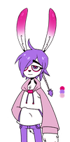 Purple Rabbit - Paypal Adopt [CLOSED] by SecondNoise