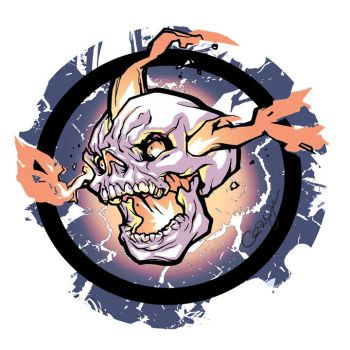 Skull Design 2 by ChrisVisions