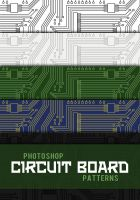 Circuit Board Photoshop Patterns by sdwhaven