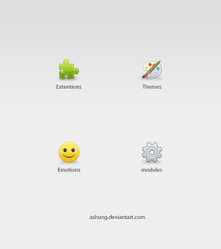 Download Categories Icons by Ashung