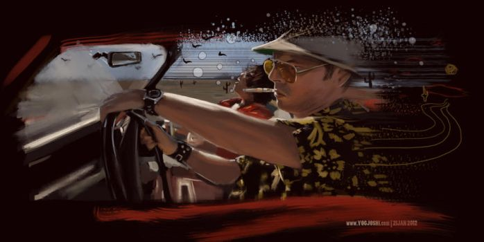 Day 80: This is bat country by YogFingers