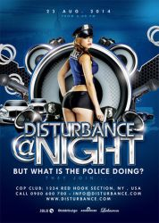 Max Volume Disturbance At Night Evening Party by n2n44