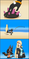 PokeSon Comic - Chucking Pyukumuku