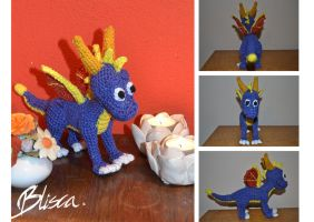Crochet Spyro by Blisca